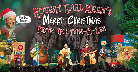 Robert Earl Keen Merry Christmas From The Family.Bass Performance Hall Official Website Robert Earl Keen 2019