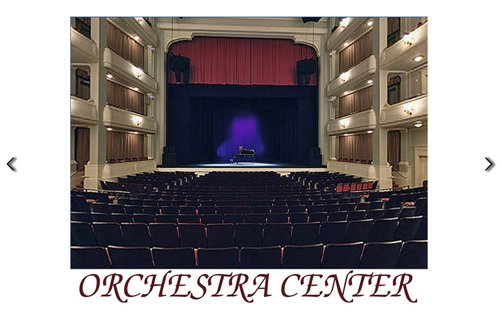 Orchestra Floor Seating Chart